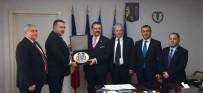 Burhaniye'de Sarıbaş Balkan Odalar Birliği Genel Kuruluna Katıldı
