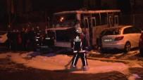 ATAKÖY - İstanbul'da 3 Araç Yandı