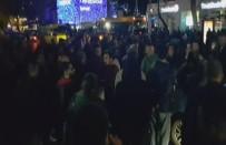 BÜYÜKDERE - İstanbul'un En İşlek Caddesinde İETT Eylemi