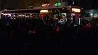 BÜYÜKDERE - İstanbul'un En İşlek Caddesinde Otobüs Eylemi