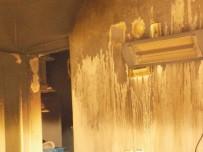SOLUNUM YETMEZLİĞİ - Karacasu Apartmanın Giriş Katında Yaşanan Yangın Korkuttu