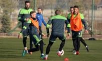 KAYACıK - Konyaspor, Shakhtar Donetsk Maçı Hazırlıklarını Tamamladı