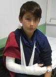 ÖĞRENCİ SERVİSİ - Samsun'da Öğrenci Servisi Kaza Yaptı Açıklaması 8 Yaralı