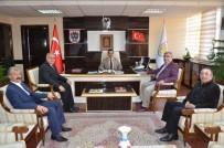 MEHMET NEBI KAYA - Sivas Ticaret Borsası'ndan, Genel Sekreter Kaya'ya Ziyaret
