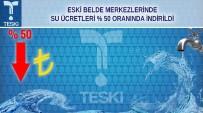 YENIÇIFTLIK - Tekirdağ'da Eski Belde Merkezlerinde Su Ücreti Yüzde 50 İndirildi