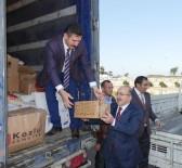 TRABZON VALİSİ - Trabzon'dan Suriyeli Mülteciler İçin Yardım TIR'ları Yola Çıktı