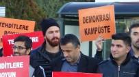ÖĞRENCİ KONSEYİ - Üniversite Öğrencilerinden 'Demokrasi Eylemi'
