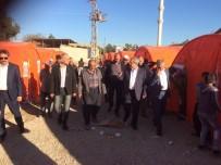 NECDET ÜNÜVAR - Ünüvar Açıklaması 'Yangın Mağduru Aileler Açıkta Kalmayacak'