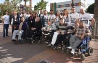 İŞARET DİLİ - Alanya Belediyesinden 'Bir De Buradan Bak' Projesi