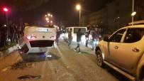 ÇAYKUR - Ardeşen'de Trafik Kazası Açıklaması 4 Yaralı
