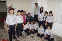 YAŞLI KADIN - Atatürk İlkokulu Yavrukurt Kümesinden Yaşlı Ziyareti