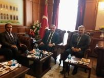 AHMET ARSLAN - Bakan Arslan'dan İzmir Valiliğine Ziyaret