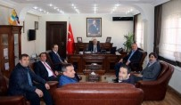 ADALET VE KALKıNMA PARTISI - Başkan Keleş'ten Vali Toprak'a Ziyaret