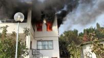 ENGELLİ KADIN - Bodrum'da Yangında Can Pazarı; 1 Ölü, 3 Yaralı