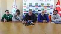 ÇAYKUR - Çaykur Rizespor'da Kweuke Ve Orhan Sözleşme Yeniledi
