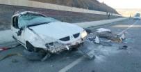 İSLAMOĞLU - Cenaze Yolunda Kaza Açıklaması 5 Yaralı