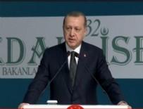 İSTANBUL KONGRE MERKEZI - Cumhurbaşkanı Erdoğan rest çekti!