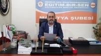 YIPRANMA PAYI - Eğitim-Bir-Sen Malatya 1 No'lu Şube Başkanı Kerem Yıldırım Açıklaması