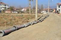 KALDIRIMLAR - Erbaa'da Yol Genişletme Ve Alt Yapı Çalışması
