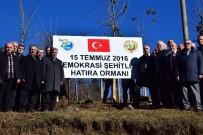 GİRESUN VALİSİ - Giresun'da '15 Temmuz Şehitler Hatıra Ormanı' Törenle Açıldı.