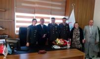 JANDARMA ASTSUBAY - Jandarma Komutanından Diş Hastanesine Ziyaret