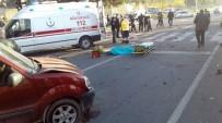 KAVAKLı - Kahramanmaraş'ta trafik kazası: 2 ölü, 1 yaralı