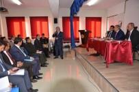 KAMU GÖREVLİLERİ - Kütahya Valisi Ahmet Hamdi Nayir, Muhtarlarla 'Değerlendirme Toplantısı'nda Buluştu