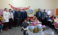 Marmarabirlik Mürefte Kooperatifinden Miniklere Zeytin