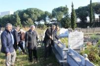 CAHIT ZARIFOĞLU - Öğretmenler Mezarları Başında Anıldı
