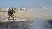 MADDE BAĞIMLISI - Orman İşletme Memurundan Yangına Kravatlı Gömlekli Müdahale