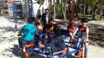 Seydişehir Belediyesi Parklardaki Oyun Gruplarını Yeniliyor
