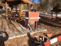 Sulakyurt'ta Belediye Parkı Tahrip Edildi