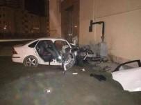 ERCIYES ÜNIVERSITESI - Talas'ta Trafik Kazası Açıklaması 1 Ölü