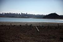 HİDROELEKTRİK - Tarihi Mezarlık Sular Çekilince Gün Yüzüne Çıktı