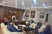 FEDERASYON BAŞKANI - Trabzonlulardan Çağlayan'a Ziyaret