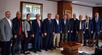 YABANCI YATIRIMCI - AYSO Yönetimi, İl Emniyet Müdürü Baştuğ'u Ziyaret Etti