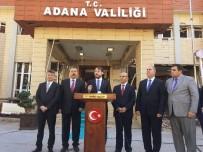 TÜRKİYE ENERJİ ZİRVESİ - Bakan Albayrak Adana Valiliği Önünden Teröre Meydan Okudu