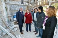 DIYALOG - Başkan Polat Kebir Cami'si Restorasyon Çalışmalarını İnceledi