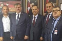 FARUK ÇATUROĞLU - Başkan Uysal, Ankara'da Temaslarda Bulundu