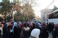 UMRE - Bilecik'te 87 Kişilik Umre Kafilesi Kutsal Topraklara Uğurlandı