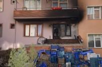 HASAR TESPİT - Bozüyük'te Kömürlük Yangını