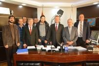 MUSTAFA ŞAHİN - Dinar'a Fabrika Kuracak Firma İle İmzalar Atıldı