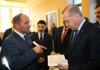 HABER KAMERAMANLARI DERNEĞİ - Erdoğan'a 'Kalkışma' Adlı Kitap Hediye Edildi