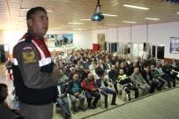 TRAFİK EĞİTİMİ - Fethiye'de Jandarmadan Servis Şoförlerine Seminer