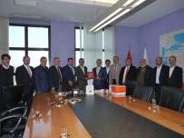 MUSTAFA ATAŞ - KAHİSA, AK Parti Genel Merkezini Ziyaret Etti