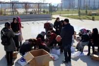 KMÜ, Öğrencilerinden Köy Okullarına Anlamlı Destek