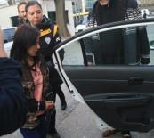 UZAKLAŞTIRMA CEZASI - Kocasını Öldüren Genç Kadın Gözyaşları İçinde Adliyeye Sevk Edildi