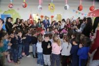 BAŞÖĞRETMEN - Mezitli'de Miniklerin İlk Öğretmenler Günü Heyecanı