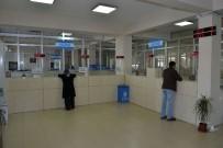 EMLAK VERGİSİ - Pamukkale'de Vezneler Hafta Sonu Da Açık