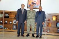 SİNAN ŞEN - SESOB Başkanı Köksal'dan, Jandarma Komutanına Ziyaret